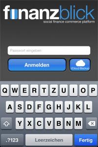 iCloud Backup als erste Sync-Lösung