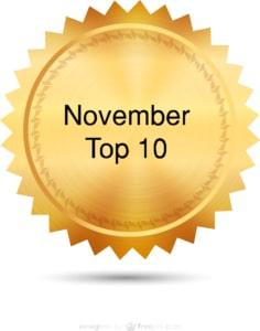 Top 10 November 2012