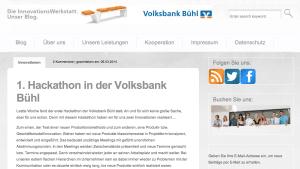 Vorbild für Banken