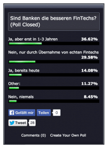 Umfrage-Sind Banken die besseren FinTechs
