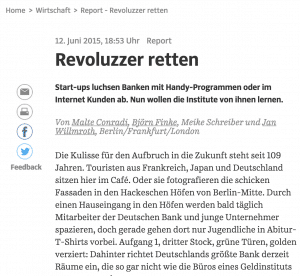 """Empfehlung aus der SZ: """"Revoluzzer retten"""""""