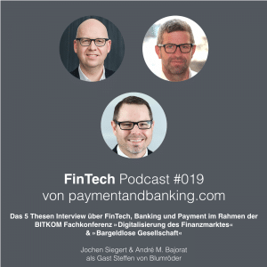 FinTech Podcast #019 – Das 5 Thesen Interview
