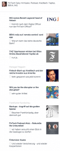 FinTech News in der Niuws App