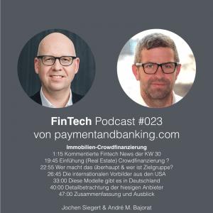 FinTech Podcast #023 – Immobilien-Crowdfinanzierung