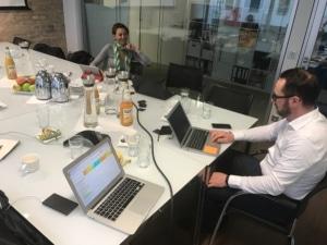 Jurysitzung zum FinTech des Jahres 2016