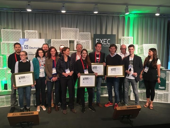 Gewinner des FinTech des Jahres 2016- Award