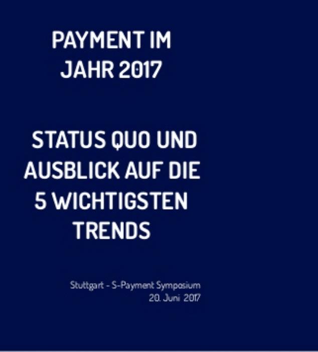 Die 5 wichtigsten Zukunftstrends im Payment