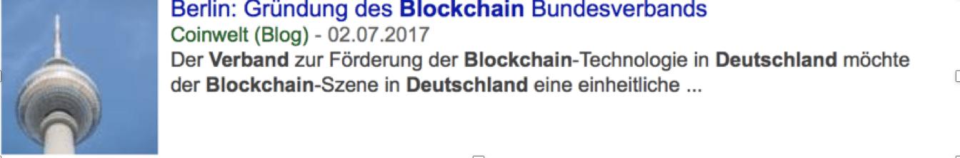 Blockchain Kompass