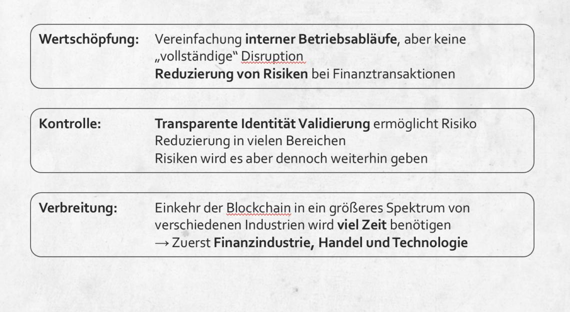 Blockchain - für Nichtversteher