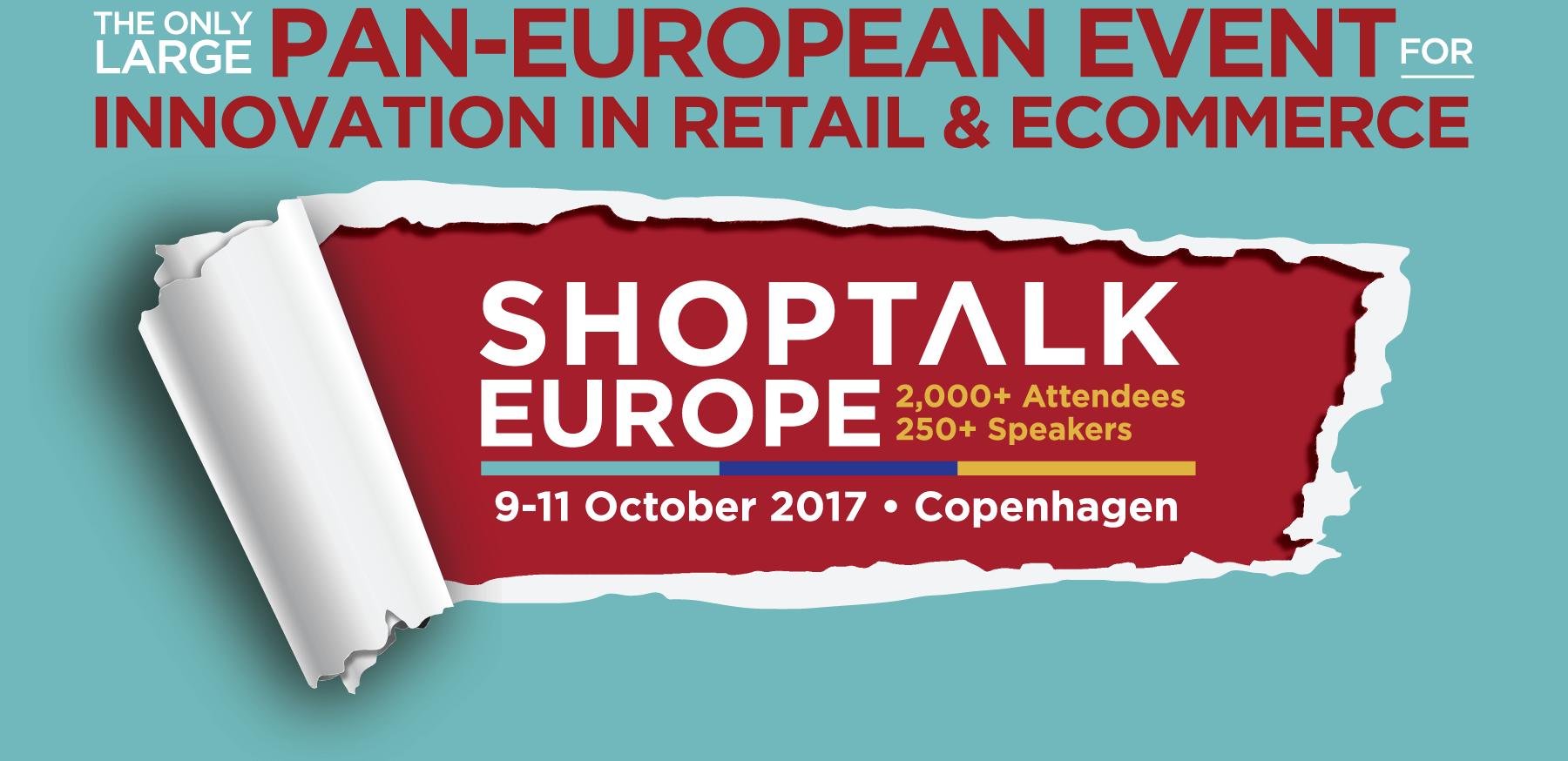 Shoptalk Europe Konferenz