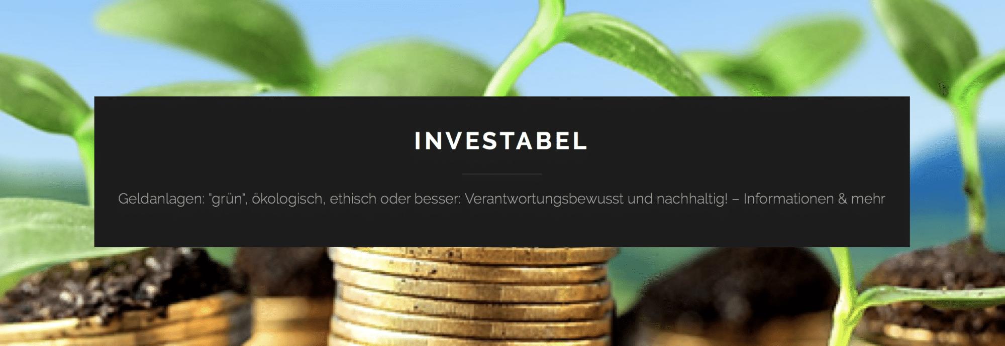 FinTech Vorstellung Investabel