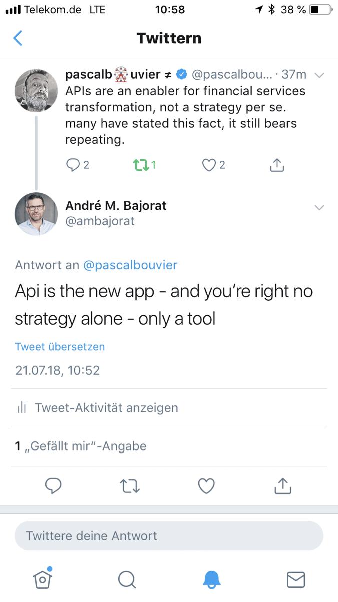Sind APIs die neuen Apps?