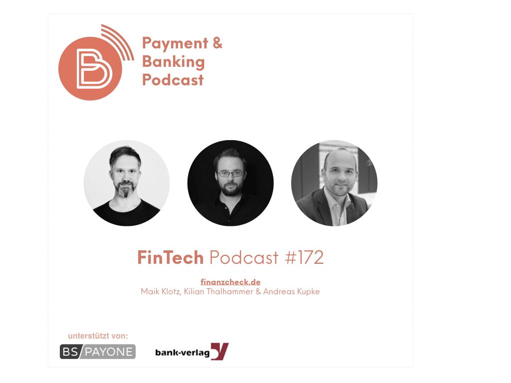 FinTech Podcast #172 - Der Check von Finanzcheck