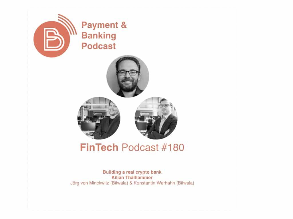FinTech Podcast #180 - buliding a real crypto bank