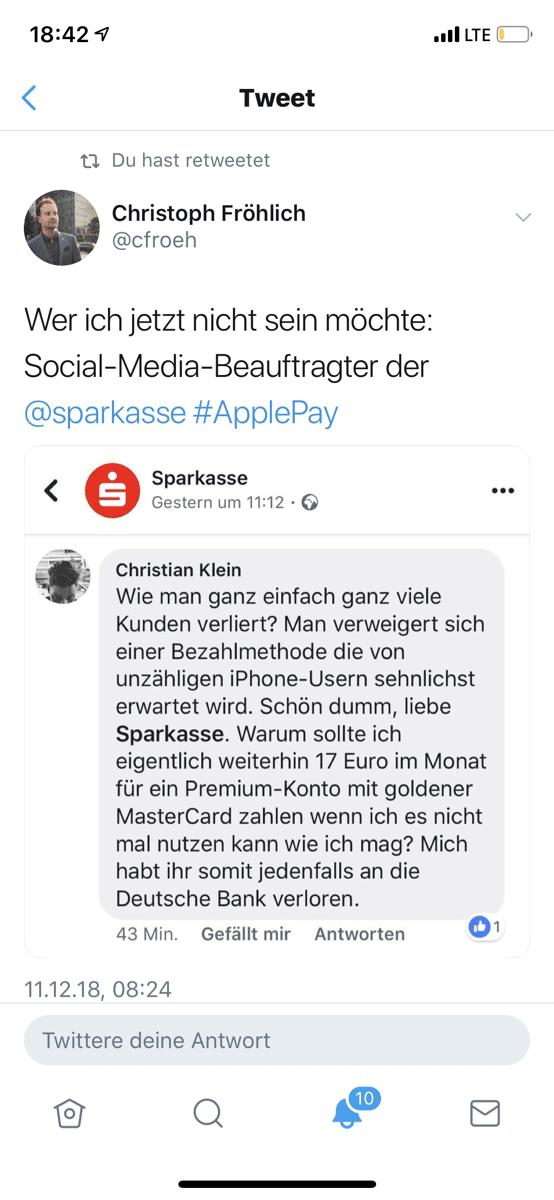 Launchevent von Apple Pay in Deutschland