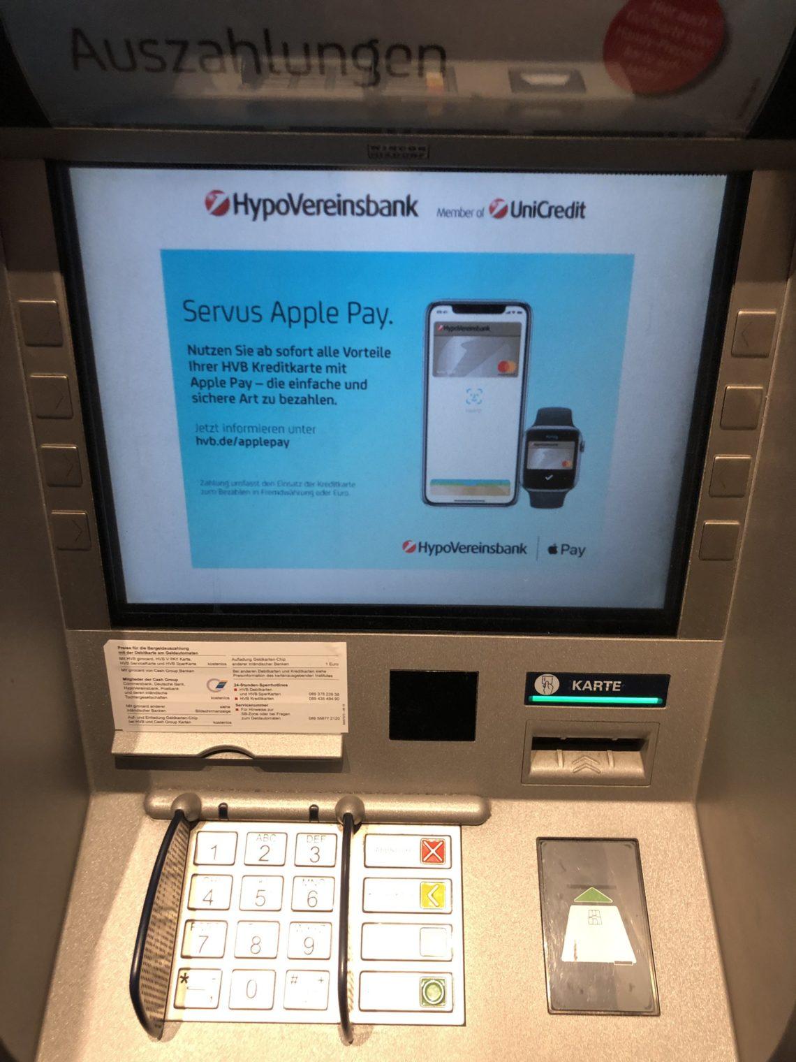 """Der """"Ba-Bing-Moment"""" durch Apple Pay in deutschen Banken & Sparkassen"""