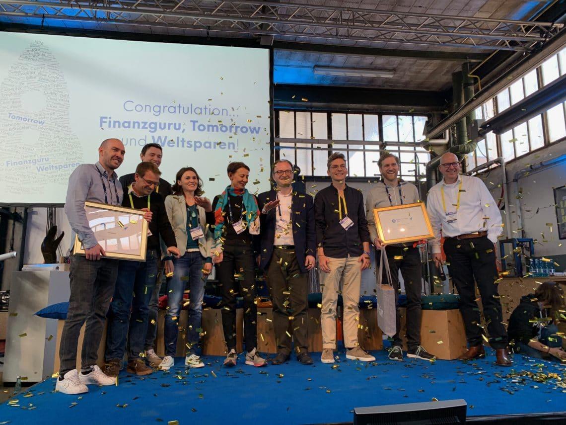 Verleihung FinTech des Jahres 2018