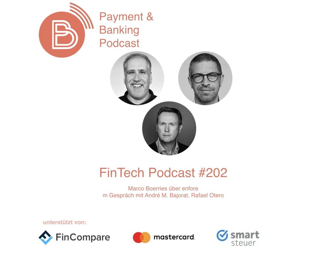 FinTech Podcast #202 - Marco Börries enfore