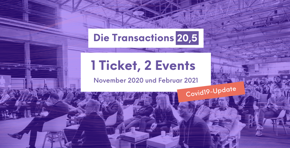 Transactions 20 - COVID-19 Update
