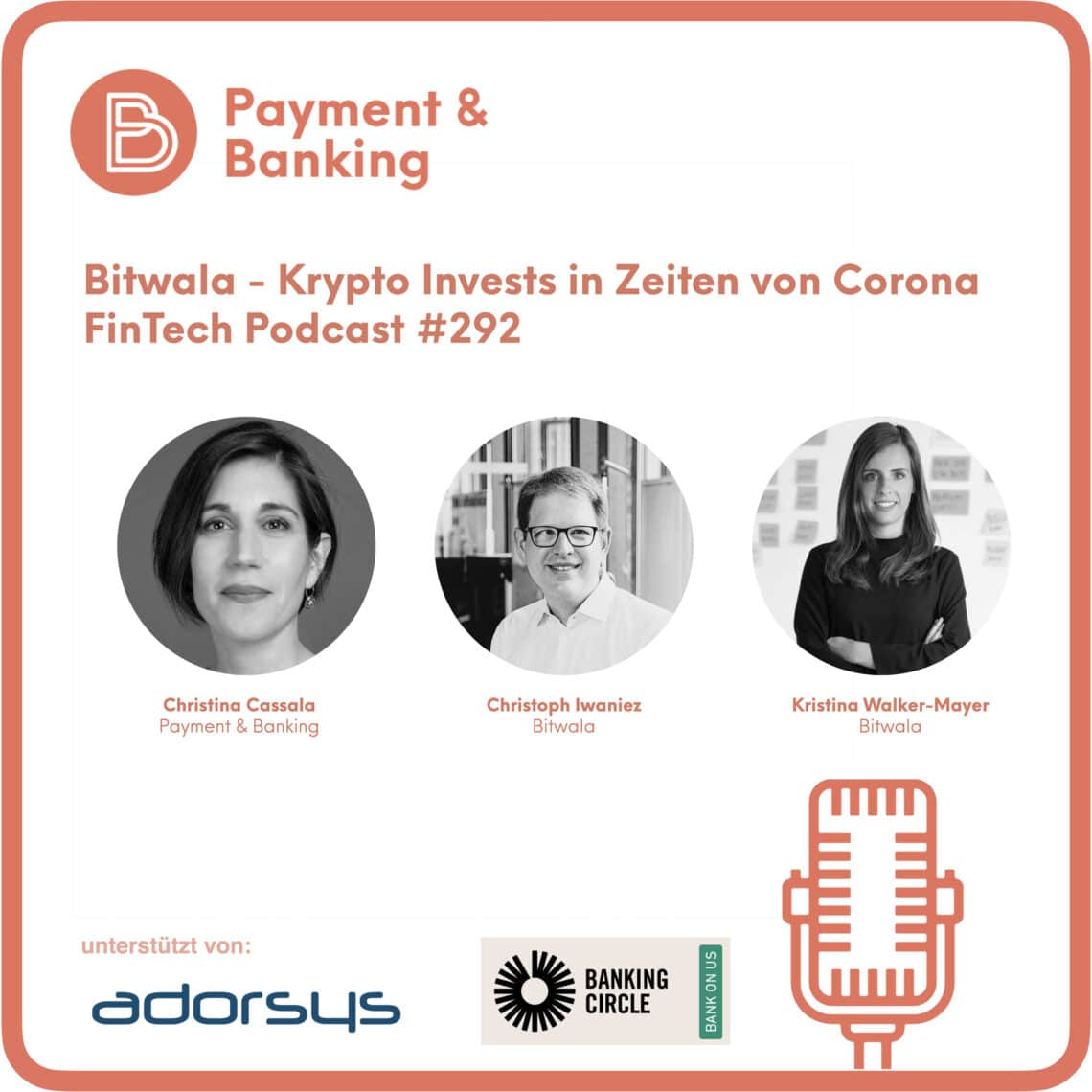 Bitwala - Krypto Invests - FinTech Podcast #292