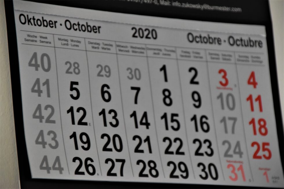 News-Rückblick Oktober 20