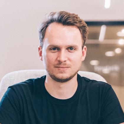 """Julian Leitloff ist Gründer und CEO von Fractal sowie Co-Autor des Buches """"Keinhorn""""."""