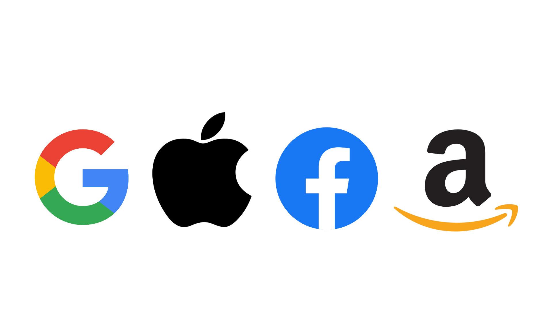 Die sogenannten GAFA - Google, Apple, Facebook, Amazon.