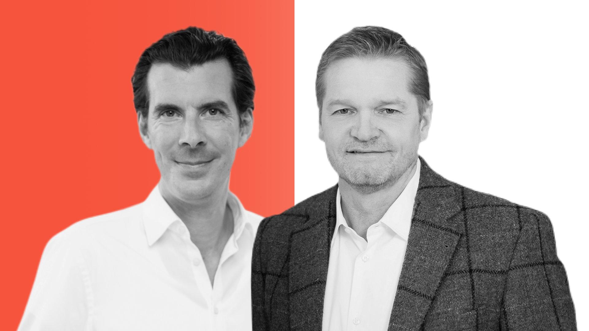 Jürgen Borgartz und Tim Weickert von EOS