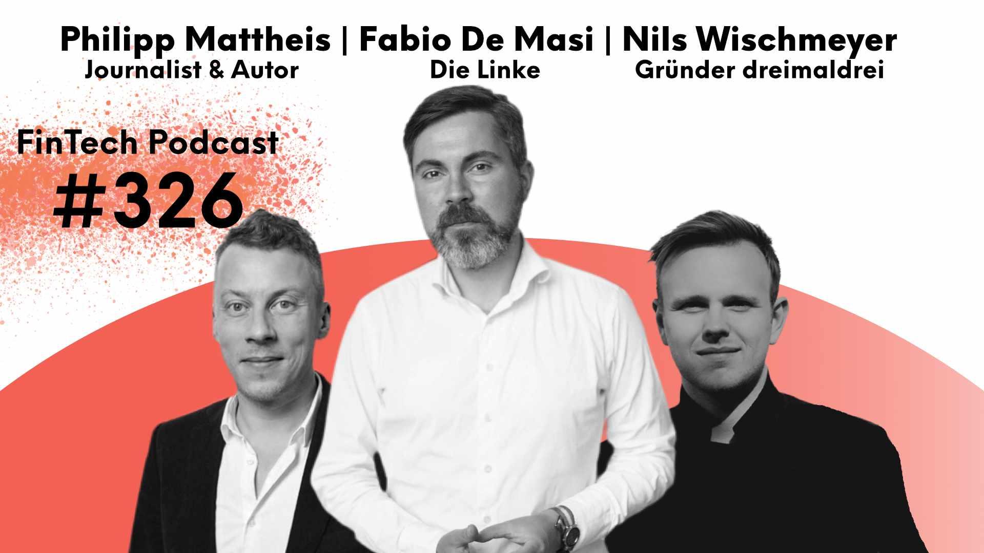 Bildmontage: Philipp Mattheis, Fabio de Masi (Die Linke) und Nils Wischmeyer (v.l.n.r.)