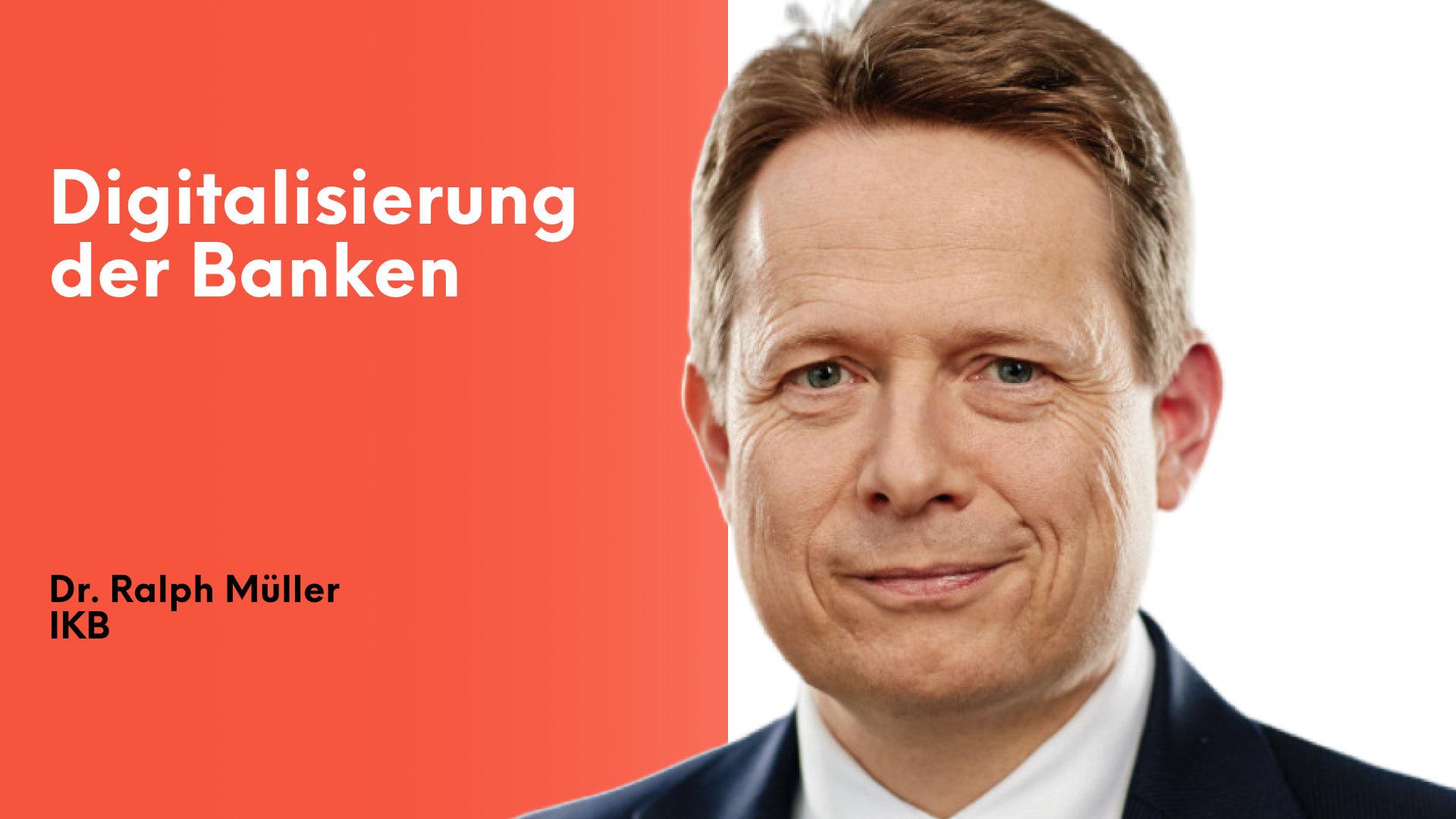 Dr. Ralph Müller von der IKB im Payment & Banking Interview.