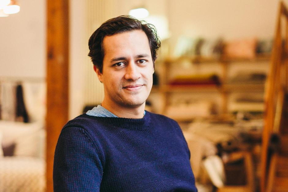 Benjamin Esser begann seine unternehmerische Karriere mit Urbanara.