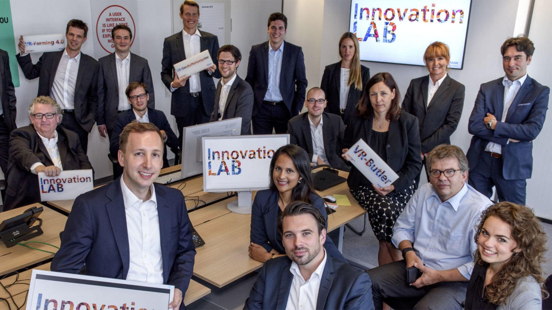 Das Innovation LAB der DZ Bank